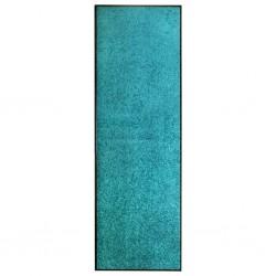 stradeXL Doormat Washable Cyan 60x180 cm