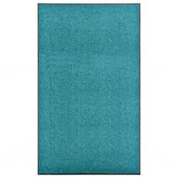 stradeXL Doormat Washable Cyan 90x150 cm