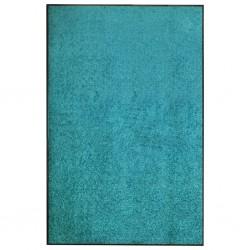 stradeXL Doormat Washable Cyan 120x180 cm