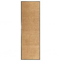 stradeXL Doormat Washable Cream 60x180 cm