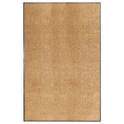 stradeXL Doormat Washable Cream 120x180 cm