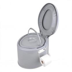 ProPlus Przenośna toaleta, 7 L, szara