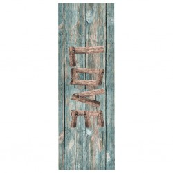 stradeXL Kitchen Floor Mat Washable Love 45x150 cm