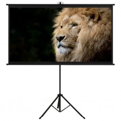 """stradeXL Projection Screen with Tripod 90"""" 16:9"""