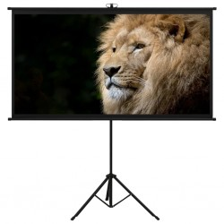 """stradeXL Projection Screen with Tripod 108"""" 16:9"""