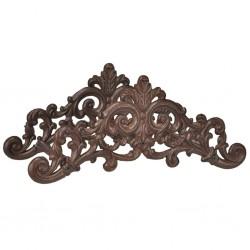 HI Żeliwny uchwyt na wąż ogrodowy, brązowy