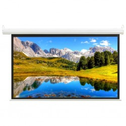 """stradeXL Electric Projection Screen with Remote Control 68"""" 16:9"""