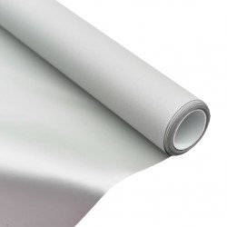 """stradeXL Tkanina na ekran projekcyjny, metaliczna, PVC, 100"""", 4:3"""