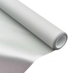 """stradeXL Tkanina na ekran projekcyjny, metaliczna, PVC, 63"""", 1:1"""