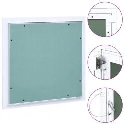 stradeXL Panel rewizyjny z aluminiową ramą i płytą gipsową, 200x200 mm
