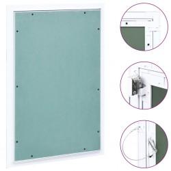stradeXL Panel rewizyjny z aluminiową ramą i płytą gipsową, 400x600 mm