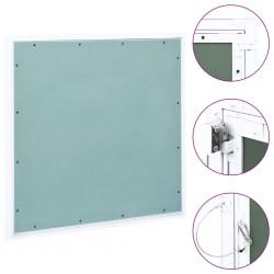 stradeXL Panel rewizyjny z aluminiową ramą i płytą gipsową, 600x600 mm