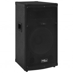 stradeXL Professional Passive Hifi Stage Speaker 1000 W Black 32x32x64cm