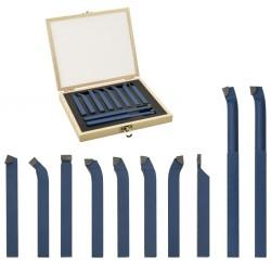 stradeXL Zestaw 11 noży tokarskich z węglików spiekanych, 16x16 mm, P30