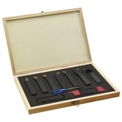 stradeXL 12-częściowy zestaw noży tokarskich, 16x16 mm, 115 mm