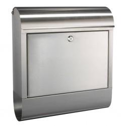 HI Letter Box Stainless Steel 38x12x42.5 cm