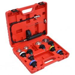 stradeXL 14-częściowy tester ciśnienia i temperatury systemu chłodzenia