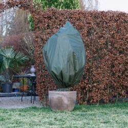 Nature Kaptur ochronny dla roślin, 70 g/m², zielony, 2x2,5 m