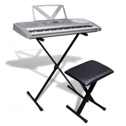 Kompletny zestaw Keyboard elektryczny+statyw+taboret