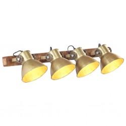 stradeXL Industrialna lampa ścienna, miedź, 90x25 cm, E27