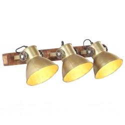 stradeXL Industrial Wall Lamp Brass 65x25 cm E27