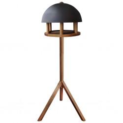 Esschert Design Karmnik dla ptaków, okrągły, stalowy daszek, FB429