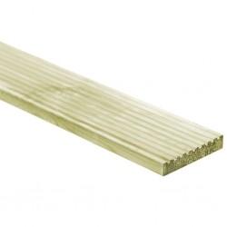 stradeXL Deski tarasowe, 6 szt., 1,34 m², drewno
