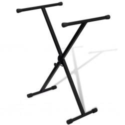 Statyw pod keyboard, regulowana wysokość, kształt X
