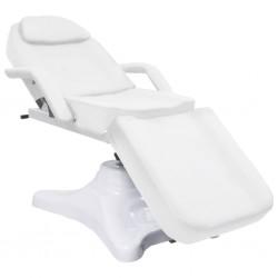 stradeXL Stół do masażu, biały, 180x62x(86,5-118) cm