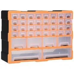 stradeXL Organizer z 40 szufladkami, 52x16x37,5 cm