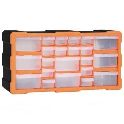 stradeXL Organizer z 22 szufladkami, 49x16x25,5 cm