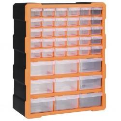 stradeXL Organizer z 39 szufladkami, 38x16x47 cm
