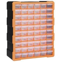 stradeXL Organizer z 60 szufladkami, 38x16x47,5 cm