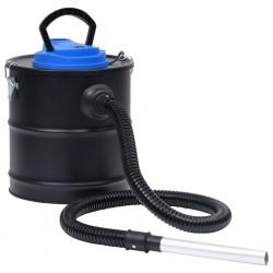 stradeXL Ash Vacuum Cleaner with HEPA Filter 1200 W 20 L Steel