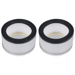 stradeXL HEPA Filters 2 pcs for Ash Vacuum Cleaner Washable