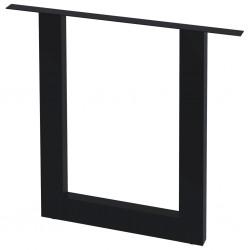 stradeXL Nogi do stołu, 2 szt., kształt litery O, 80 x 72 cm