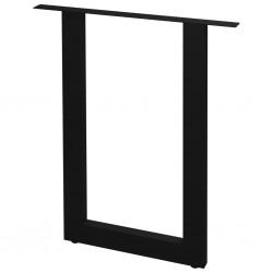 stradeXL Nogi do stołu, 2 szt., kształt litery O, 70x72 cm