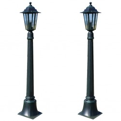 stradeXL Lampy ogrodowe Preston, 2 szt., 105 cm