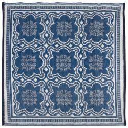 Esschert Design Dywan zewnętrzny, 151,5 cm, niebiesko-biały, OC23