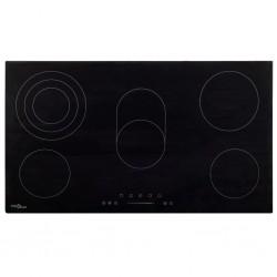 stradeXL Ceramic Hob with 5 Burners Touch Control 77 cm 8500 W