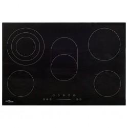 stradeXL Ceramic Hob with 5 Burners Touch Control 90 cm 8500 W