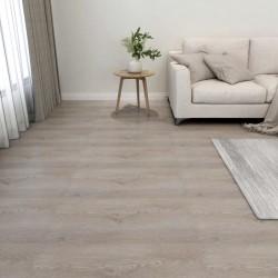 stradeXL Samoprzylepne panele podłogowe, 55 szt., PVC, 5,11 m², taupe