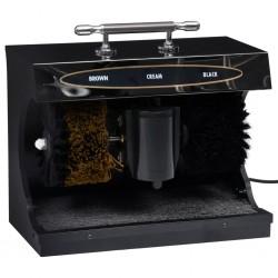 stradeXL Elektryczna maszyna do czyszczenia butów, automatyczna, czarna