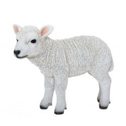 Esschert Design Figurka stojącej owieczki, 25,4 x 9,2 x 20,3 cm
