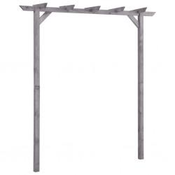 stradeXL Garden Pergola Grey 200x40x205 cm Impregnated Pinewood
