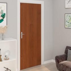stradeXL Okleina samoprzylepna na drzwi, 4 szt., jasny dąb, 210x90 cm