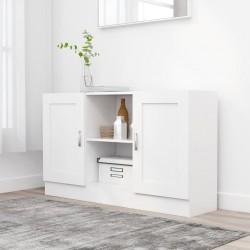 stradeXL Szafka, biała, 120 x 30,5 x 70 cm, płyta wiórowa