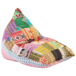 stradeXL Worek sako, tkanina, wielokolorowy patchwork