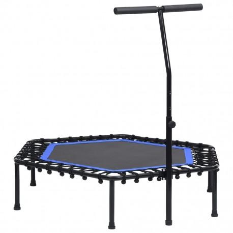 stradeXL Trampolina fitness z uchwytem, 122 cm