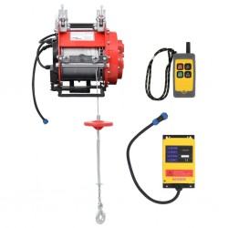 stradeXL Elektryczna wciągarka rusztowaniowa, 500 kg, 230 V